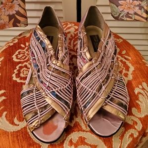 Sesto Meucci Italian Leather Sandals